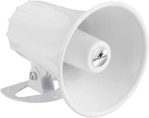 Druckkammerlautsprecher Monacor NR-22KS 15 W Weiß 1 St.