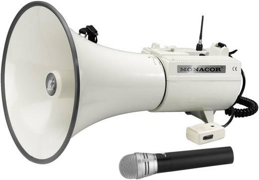 Megaphon Monacor TXM-48 mit Handmikrofon, integrierte Sounds