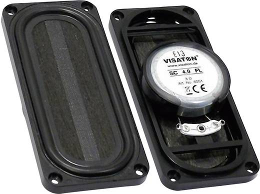 3.5 Zoll 9 cm Miniaturlautsprecher Visaton SC 4.9 FL 4 W 8 Ω