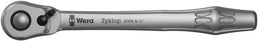 """Umschaltknarre 1/4"""" (6.3 mm) 141 mm Wera Zyklop Metal 8004 A 05004004001"""