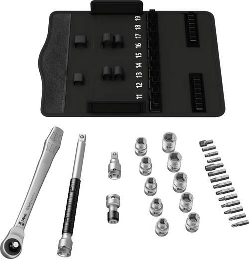 """Steckschlüsselsatz metrisch 1/2"""" (12.5 mm) 28teilig Wera Zyklop Metal 8100 SC 7 05004077001"""