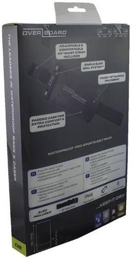 OverBoard Gürteltasche Etui ceinture ProSport Schwarz OB1050