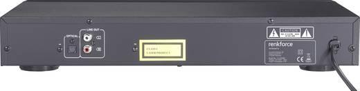 Renkforce CD-2000ME CD-Player Schwarz USB