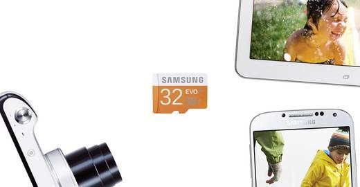 microSDHC-Karte 32 GB Samsung Evo Class 10, UHS-I inkl. SD-Adapter