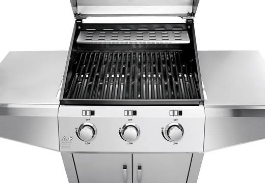 Wmf Elektrogrill Abdeckung : Profi cook pc gg1057 grillwagen gas grill edelstahl kaufen