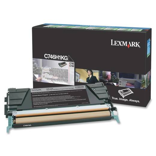 Lexmark Toner C746H1KG C746H1KG Original Schwarz 12000 Seiten
