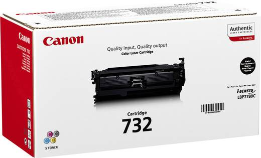 Canon Toner 732 BK 6263B002 Original Schwarz 6100 Seiten