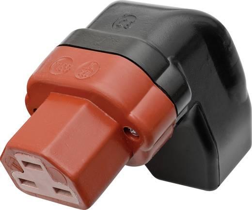 Warmgeräte-Steckverbinder 444 Serie (Netzsteckverbinder) 444 Buchse, gewinkelt Gesamtpolzahl: 2 + PE 16 A Schwarz, Rot K
