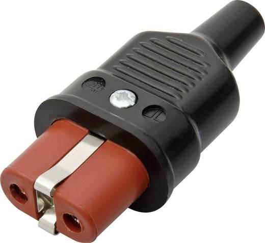 Warmgeräte-Steckverbinder Serie (Netzsteckverbinder) 344 Buchse, gerade Gesamtpolzahl: 2 + PE 25 A Schwarz Kalthoff 344