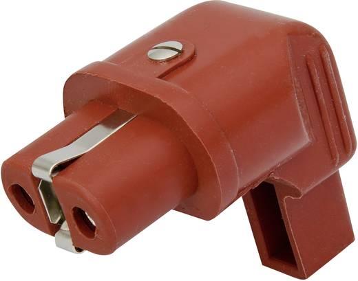 Warmgeräte-Steckverbinder Serie (Netzsteckverbinder) 344 Buchse, gewinkelt Gesamtpolzahl: 2 + PE 16 A Rot Kalthoff 344S