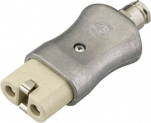Warmgeräte-Steckverbinder 344 Serie (Netzsteckverbinder) 344 Buchse, gerade Gesamtpolzahl: 2 + PE 16 A Aluminium Kalthof
