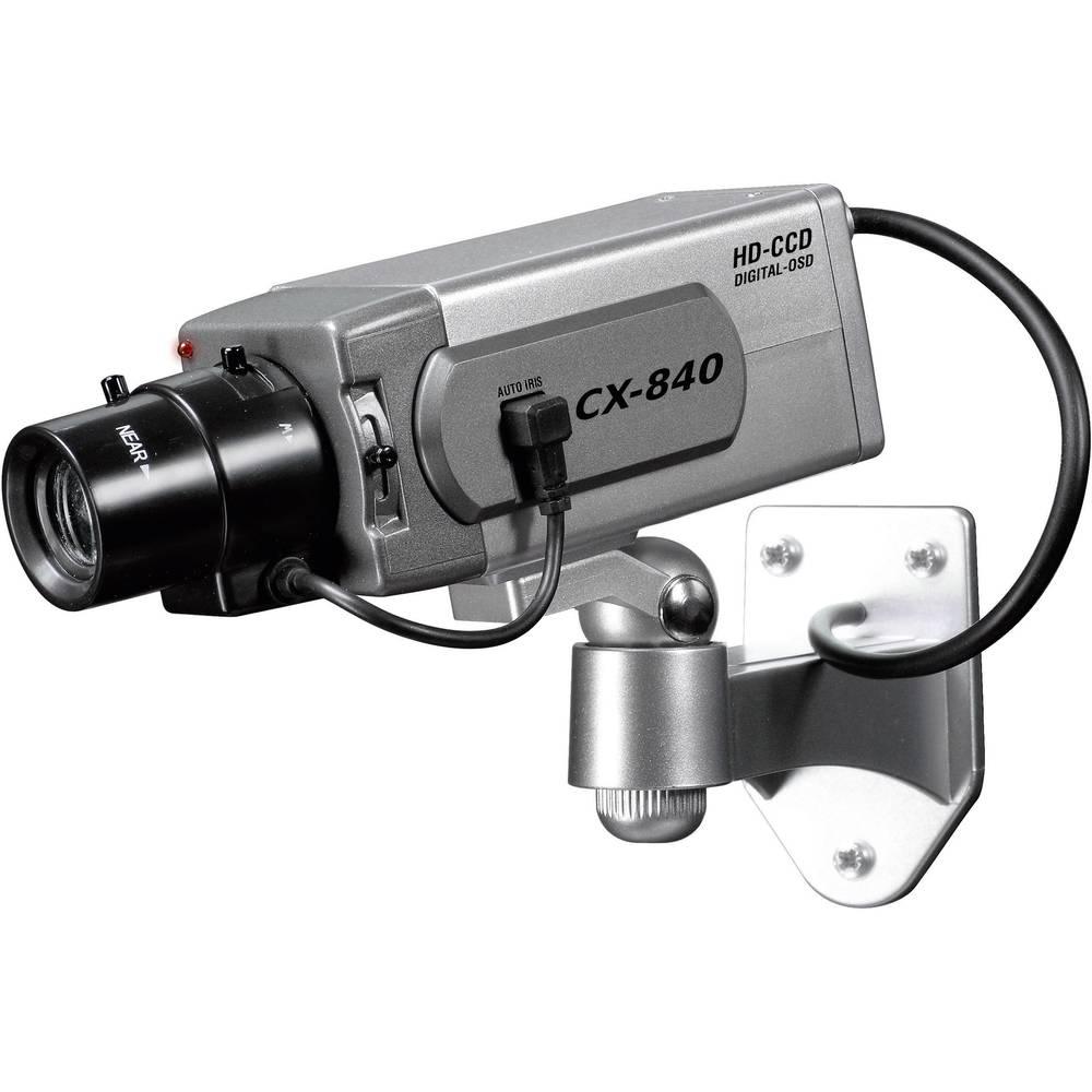 Cam ra factice 24220 avec led clignotante - Camera de surveillance factice ...