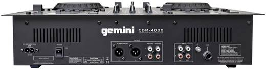 DJ Doppel CD Player Gemini CDM-4000