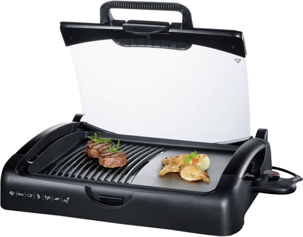 Severin Elektrogrill Mit Deckel : Severin barbecue grill pg schwarz hertie