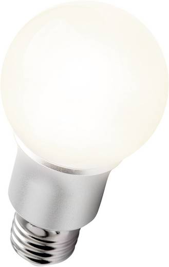 LED (einfarbig) E27 Glühlampenform 6 W = 40 W Warmweiß EEK: A softLED 1 St.