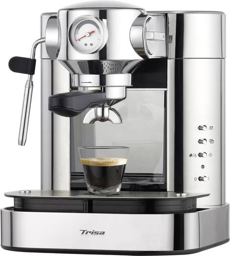 kaffeemaschine trisa espresso bar silber. Black Bedroom Furniture Sets. Home Design Ideas