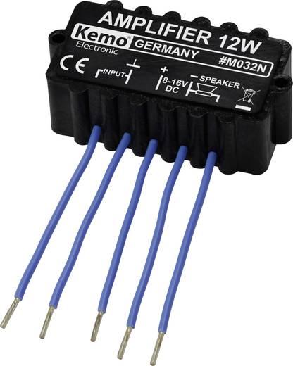 Mono-Verstärker Baustein Kemo M032N 6 V/DC, 9 V/DC, 12 V/DC, 16 V/DC 12 W 4 Ω