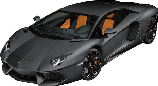 1 8 modellauto pocher lamborghini aventador mattschwarz kaufen. Black Bedroom Furniture Sets. Home Design Ideas