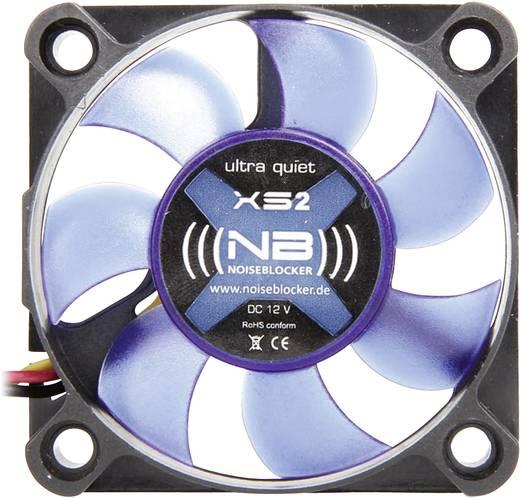 PC-Gehäuse-Lüfter NoiseBlocker BlackSilent XS2 Schwarz (B x H x T) 50 x 50 x 10 mm