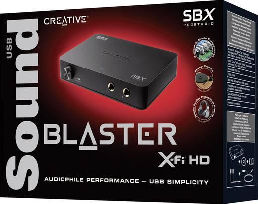 2.1 Soundkarte, Extern Sound Blaster SoundBlaster X-FI HD Digitalausgang, externe Kopfhöreranschlüsse, externe Lautstärk