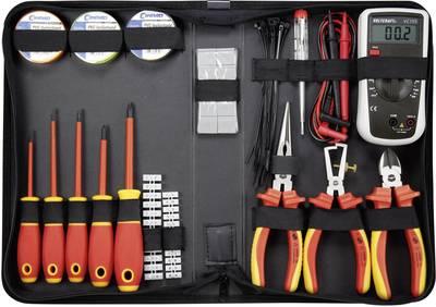 Kit utensili Elettricisti in custodia 50 parti TOOLCRAFT 1177223