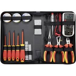 Sada VDE náradia pre elektrikárov Toolcraft 1177223, 50-dielna