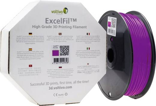 Filament Voltivo ExcelFil™ ABS 3 mm Violett 1 kg