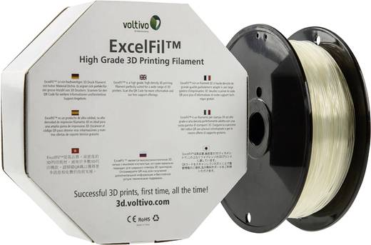Filament Voltivo ExcelFil™ ABS 3 mm Transparent 1 kg