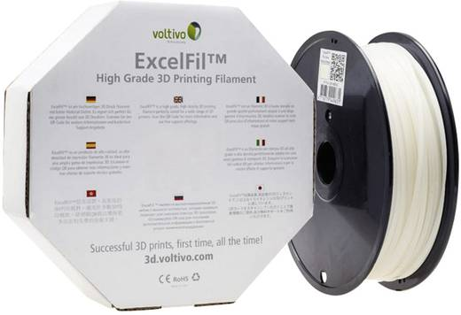 Filament Voltivo ExcelFil™ ABS 3 mm Natur 1 kg