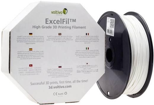 Filament Voltivo ExcelFil™ ABS 3 mm Weiß 1 kg
