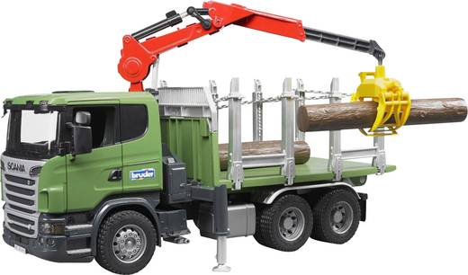 Bruder SCANIA R-Serie Holztransporter LKW