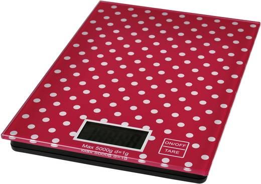 Küchenwaage digital TKG Team Kalorik TKG EKS 1001 RWD Wägebereich (max.)=5 kg Rot/Weiß