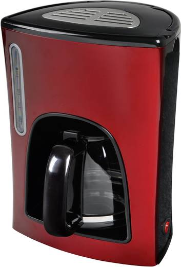 Kaffeemaschine EFBE Schott SC KA 1000 R Rot/Schwarz Fassungsvermögen Tassen=12