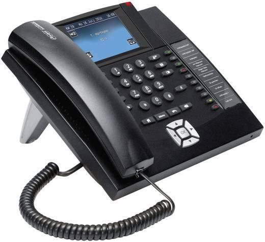 Systemtelefon, ISDN Auerswald COMfortel 1400 Freisprechen Touch-Farbdisplay Schwarz