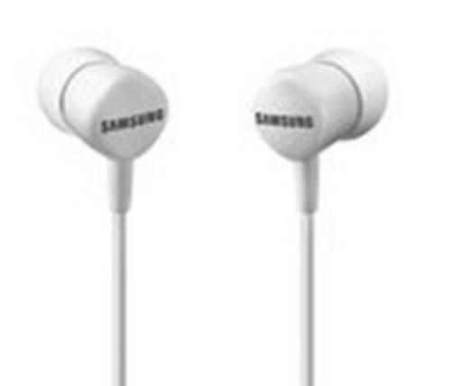 Kopfhörer Samsung EO-HS1303 In Ear Lautstärkeregelung, Headset Weiß