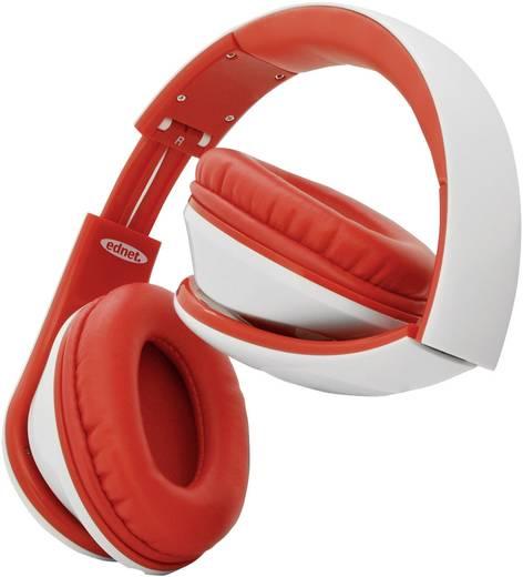 Kopfhörer ednet Head Bang Over Ear Headset Weiß