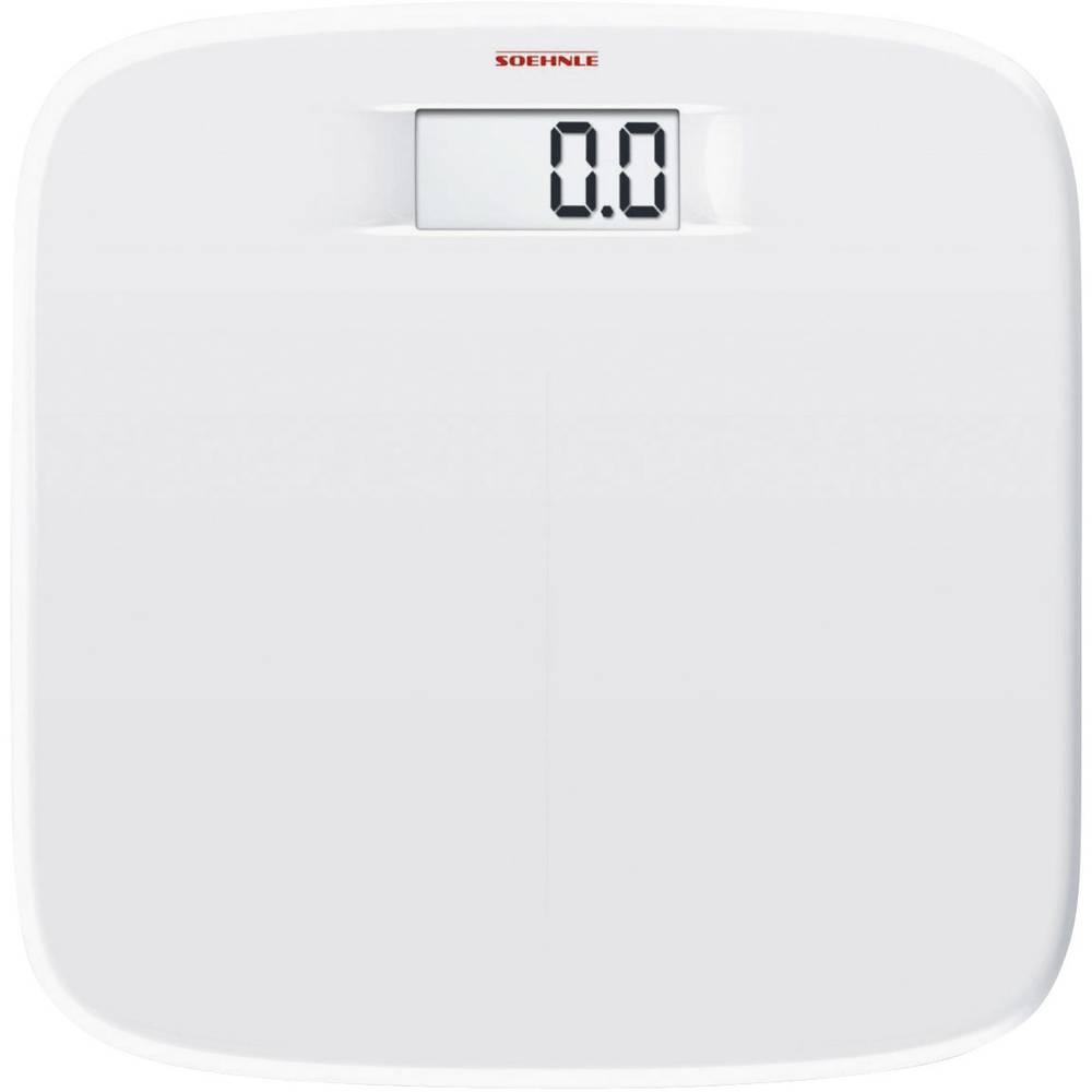 Digital Bathroom Scales Soehnle Soft Comfort Weight Range 150 Kg