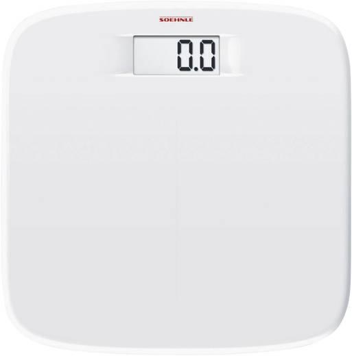 Soehnle Digitale Personenwaage Soft Comfort Wägebereich (max.)=150 kg Weiß