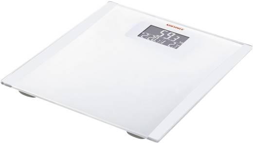 Soehnle Digitale Personenwaage Easy Control Wägebereich (max.)=150 kg Weiß-Silber