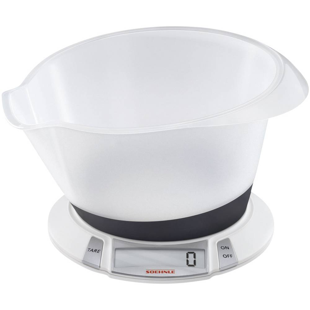 Digital kitchen scales digital, + weighing tray Soehnle Olympia Plus ...