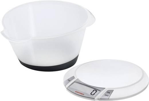 Digitale Küchenwaage digital, mit Messschale Soehnle Olympia Plus Wägebereich (max.)=5 kg Weiß