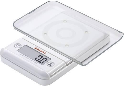 Digitale Küchenwaage digital Soehnle Ultra 2.0 Wägebereich (max.)=500 g Weiß