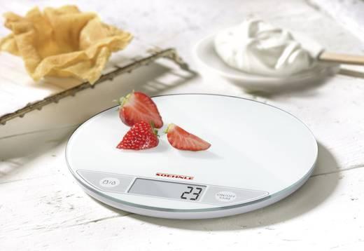 Digitale Küchenwaage digital Soehnle Flip Wägebereich (max.)=5 kg Weiß