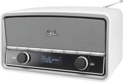 DAB+ a FM retro rádio Dual NR 5, s dálk.ovladačem, bílá