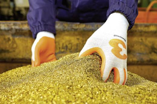 Dyneema® Schnittschutzhandschuh Größe (Handschuhe): 8, M EN 420 , EN 388 CAT II Honeywell Check & Go Orange Nit 3 23325