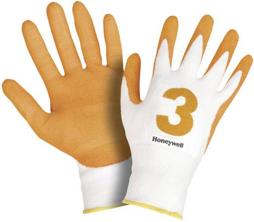 Honeywell 2332242 Schnittschutzhandschuh Check & Go Amber PU 3 Dyneema®, Lycra® und Polyamid Größe 8