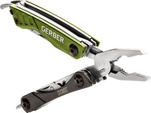 Multitool mit Schlüsselring Anzahl Funktionen 10 Gerber Dime grün GE31-001132 Grün