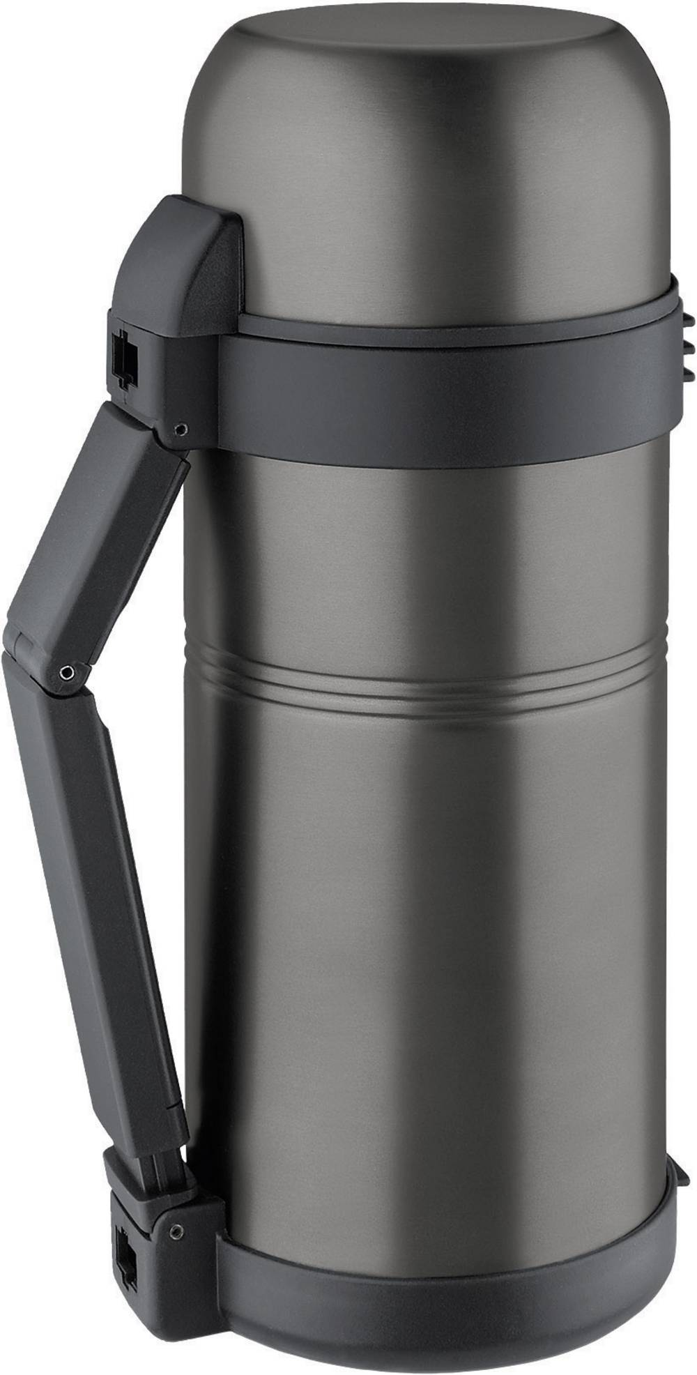 Thermos flask Isosteel Isolierflasche m Griff 1,5L ...
