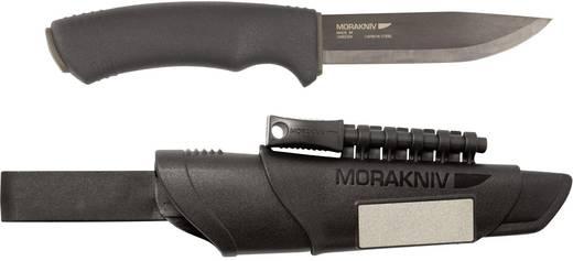 Outdoormesser mit Feuerstarter, mit Schärfstein, mit Gürtelschlaufe, mit Messerscheide Mora of Sweden Bushcraft Surviva