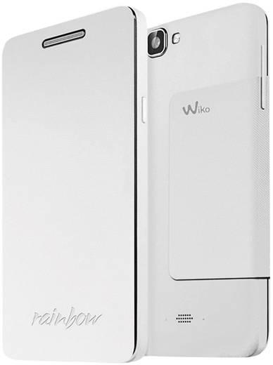 WIKO Flip Cover Flip Cover Passend für: Wiko Rainbow Weiß